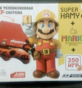 Приставка Super Hamy 4 + Mario