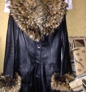Куртка демисезон натуральная кожа
