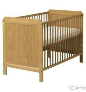 Кроватка детская Лексвик Икея