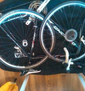 Шоссейный велосипед, сумка