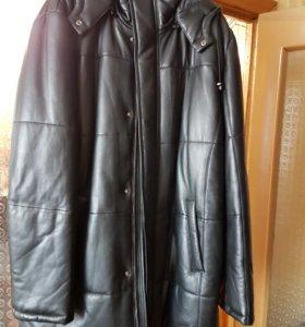 Кожаная куртка Alef