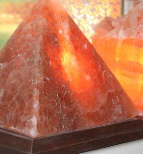 """Соляная лампа """"Пирамида большая"""" 4,5 кг"""