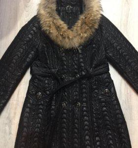 Плащ-пальто утеплённое