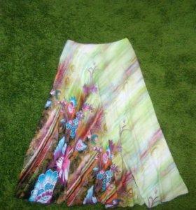 Новая эксклюзивная юбка в пол, сшитая на заказ