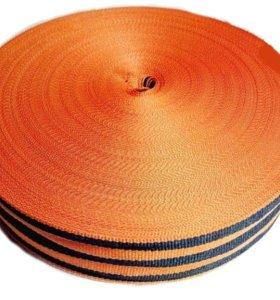 Георгиевская лента жаккардовая 2,5см бабина 50 мет