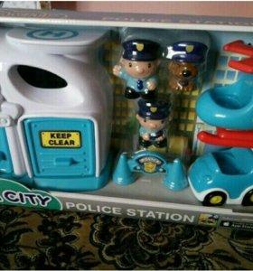 Игрушка Полицейский участок Megacity