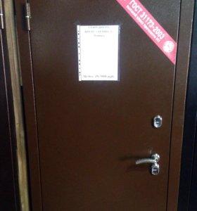 Стальная дверь с терморазрывом, цена с монтажом.