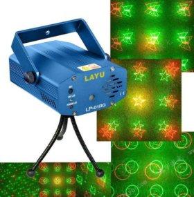 Красивый лазерный проектор Звездное небо