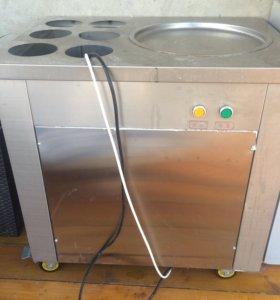 Холодильник для тайского мороженного