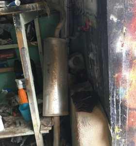 Глушитель печка стойки супорта радиатор