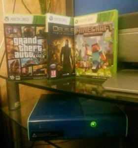 Xbox360 +3диска
