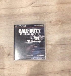 Игра для ps3 Call of Duty ghosts