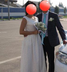 Свадебное платье торг!