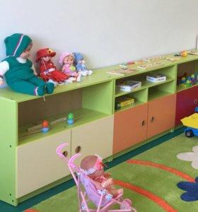 Детская игровая мебель Стеллажи Малыш
