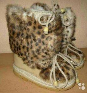 Сапоги-сноубутсы Luis Faux Fur winter boot
