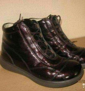 Ботинки ricosta натуральная лакиров. кожа