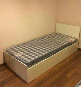 Кровать 90 белая Новая!