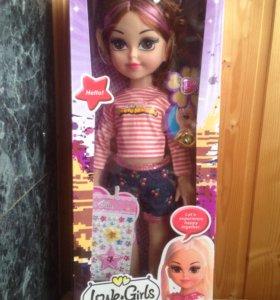 игрушка кукла музыкальная
