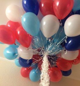 Гелиевые шарики и др