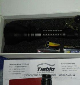 TIABLO ACE.G.Очень яркий фонарь! 700 люмен.