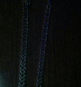 Браслет мужской серебро размер 19-20
