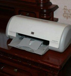 Цветной портативный принтер HP Deskjet 3940