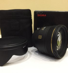Sigma 50mm 1.4 ex dog hsm AF NIKON
