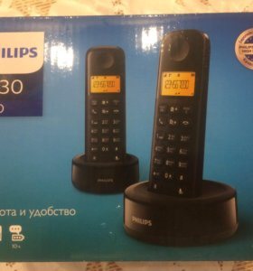 Радио телефон PHILIPS D130 duo