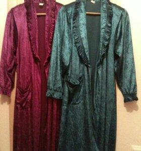 Халаты на 46-48 размер.
