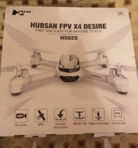 Квадрокоптер hubsan h502s с GPS, HD камерой и fpv