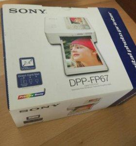 Компактный фотопринтер Sony