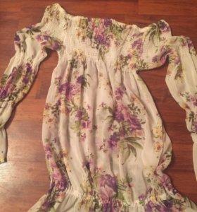 Блузка-туника.