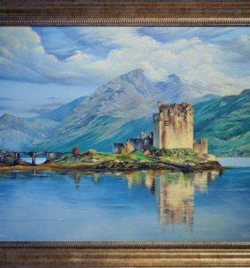 "Авторская картина ""Замок Айлен Донан в Шотландии"""