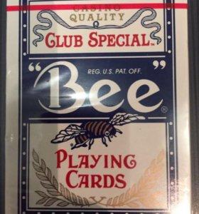Карты покерные Bee, США