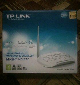 TP-LINK adsl2-modem router