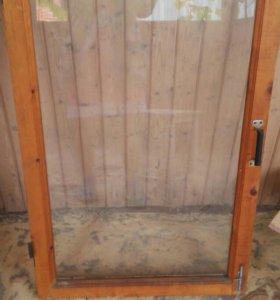 Окна деревянные 10 шт.65×110