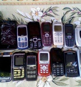 Телефоны нерабочие