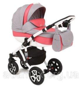 Детская коляска два в одной.