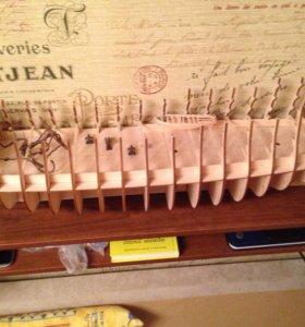 Сборная модель корабля Виктория от деагостини
