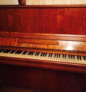 Пианино требует настройки! Отдаём даром