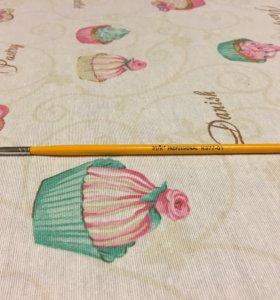 Кисточка новая для рисунка на ногтях