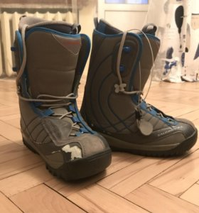 Ботинки сноубордические salomon 38 р