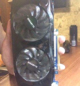 Gigabyte GeForce gtx 460 ddr5 1 gb