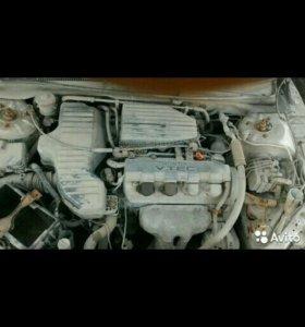 Двигатель хонда цивик 7 1.5л