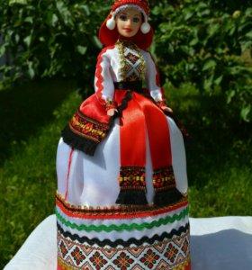 Кукла-шкатулка в национальном костюме