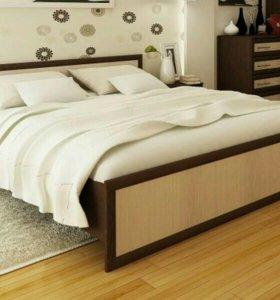 Кровать 140 с матрацем