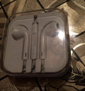 Наушники от iPhone 6s original (как новые)