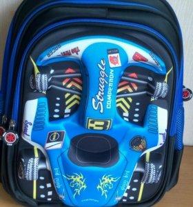 3D школьный ортопедический ранец для мальчика