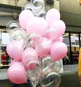 Воздушные шары/шарики/гелий/буквы/ходячий шар