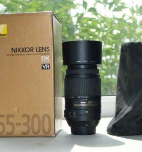 Nikon 55-300mm AF-S DX F4.5-5.6 G ED VR